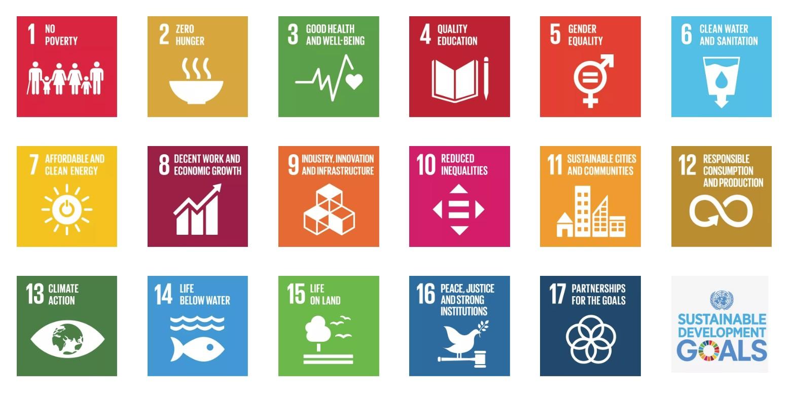 UN SDG All 17 Goals